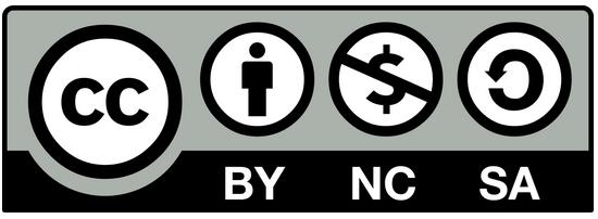 logo de la licence CC BY NC SA