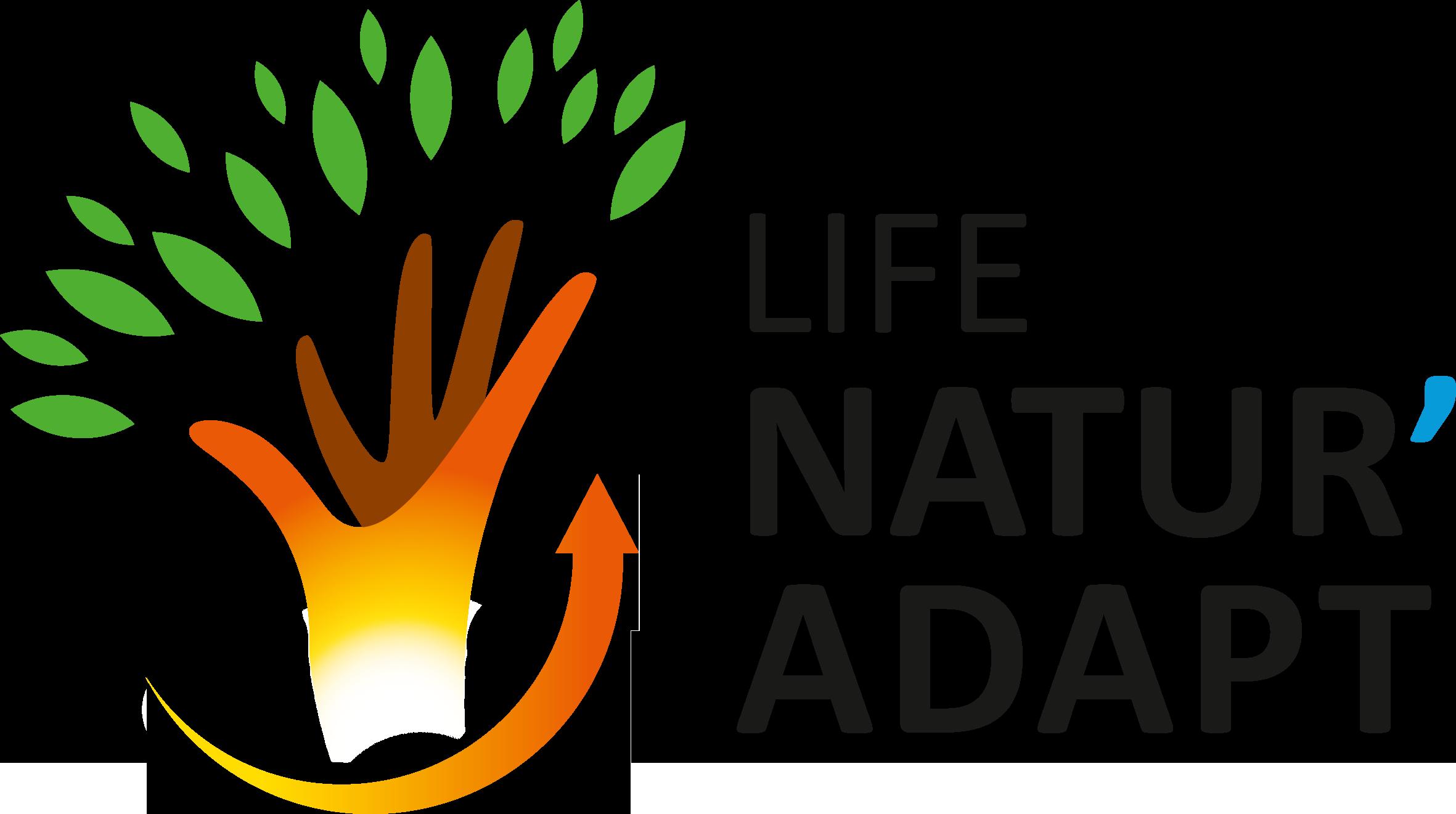 logo du LIFE Natur'Adapt